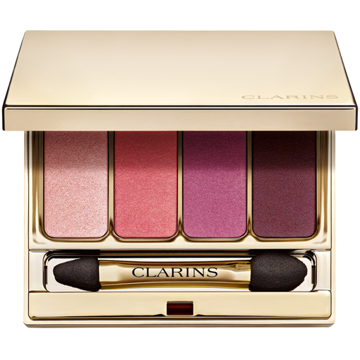 CLARINS 4 COLOURS EYESHADOWS PALETTE 07 Lovely Rose
